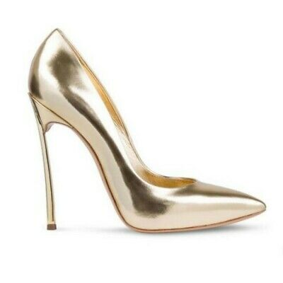 Details about  /Sexy Ladies Pointy Toe Stilettos High Heel Slip On Dress Casual Glitter Shoes L