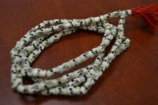 108 PCS TIBETAN BUDDHIST BUFFALO SKULL BONE MALA PRAYER BEADS 10MM #BD-2