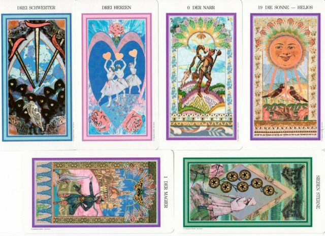 Das verzauberte Tarot Sammler selten Amy Zerner & Monte Farber rar selten