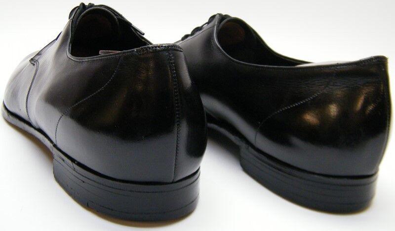 MENS BROOKS BROTHERS BROTHERS BROTHERS ENGLAND schwarz LEATHER OXFORD DRESS schuhe SZ 44B USA 11 B c16d28