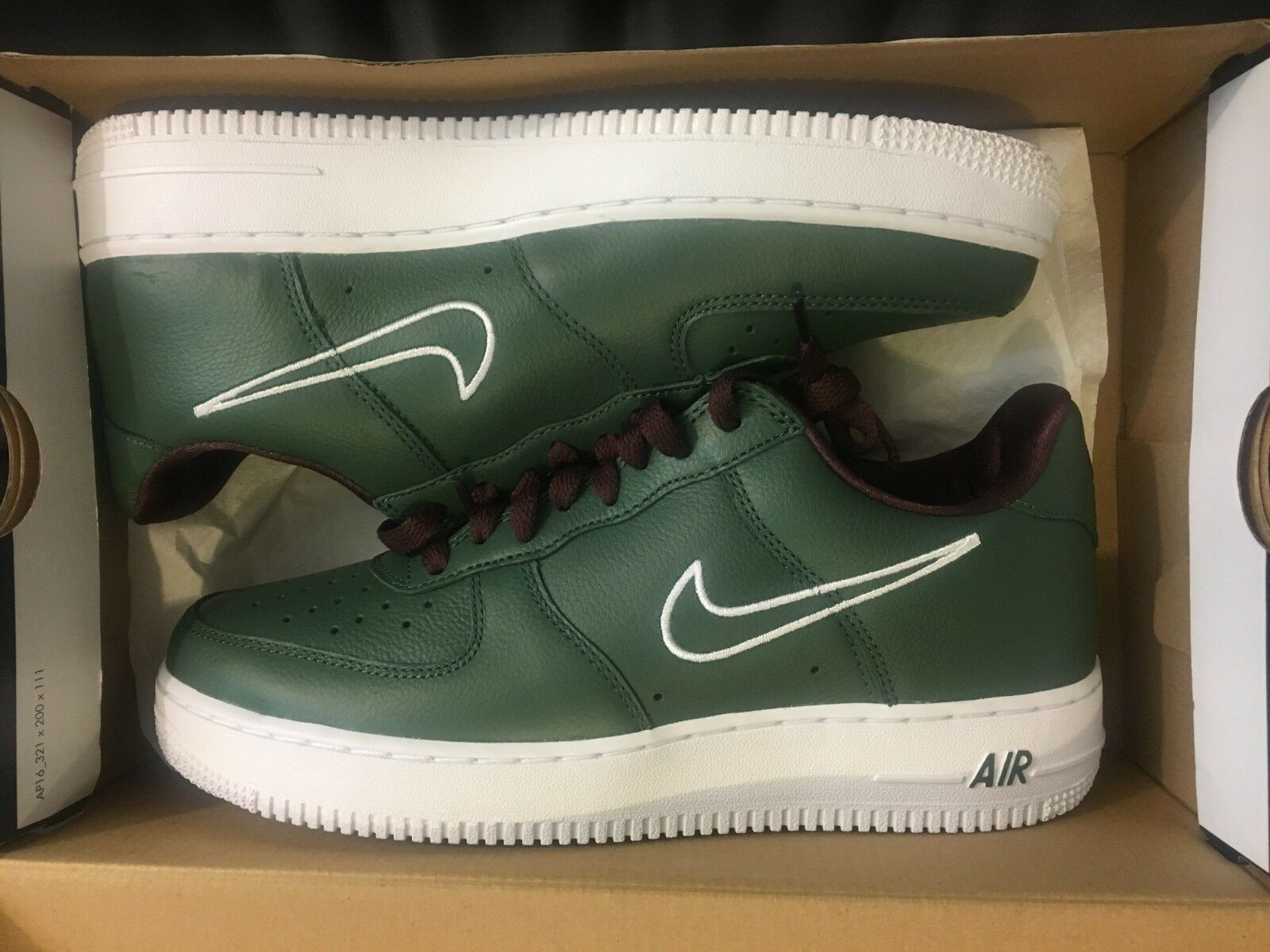 NEW NIKE AIR FORCE 1 LOW RETRO HONG KONG AF1 FOREST SHOES 845053-300 MEN SIZE 8
