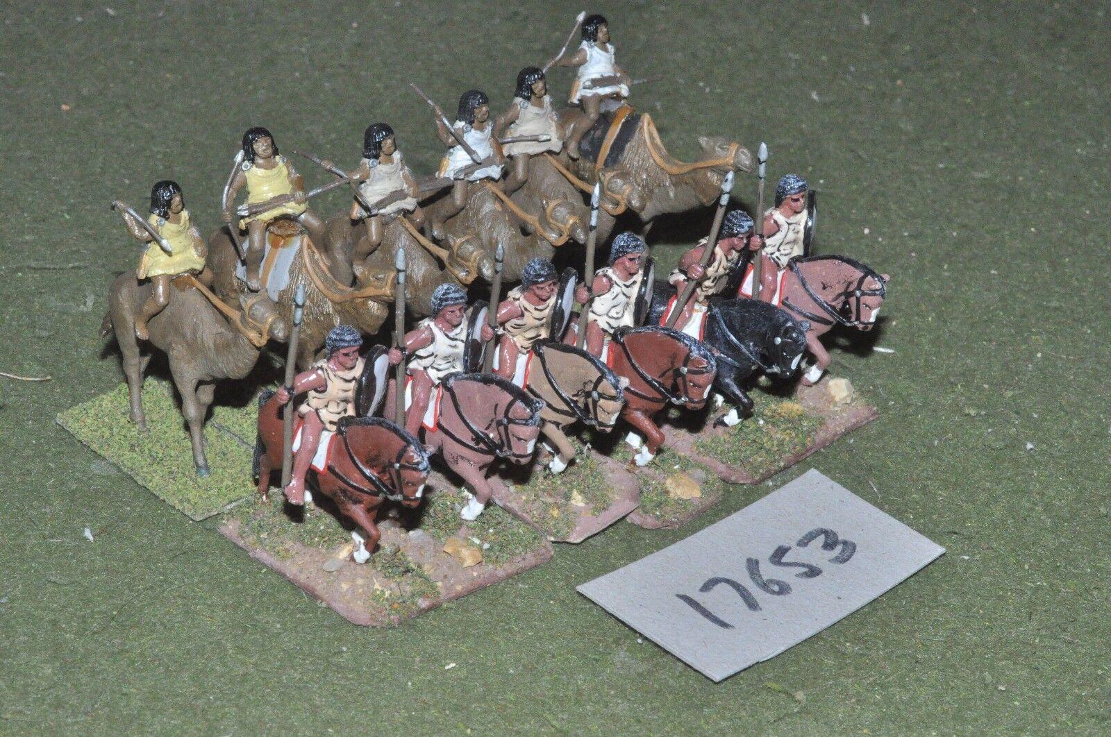 25mm roman era   numidian - cavalry 12 cavalry - cav (17653)