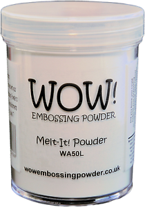 Wow-Melt-It-Powder-160ml-Jar-Make-3D-Embellishments-With-Embossing-Powders-WA50L