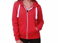 Ellesse Womens Zip Jacket Red Giovanna Sz 8uk