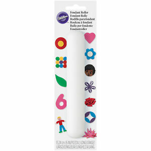 Wilton-6-Inch-Small-Icing-Gum-Paste-Fondant-Sugarpaste-Roller-Smooth-Rolling-Pin