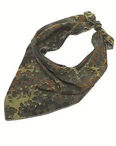 verrückter Preis schön in der Farbe im Angebot Details zu BW Dreieckstuch Bundeswehr Halstuch Camouflage Tarnung Bandana  NEU flecktarn