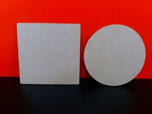 Mdf-10cm-3mm-Laser-Coasters-Squares-or-Circles-packs-of-5-10-15-20-25-or-50