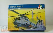 ITALERI 1248 Hubschrauber-Bausatz Merlin HMA.1 Scale 1:72 (OVP)