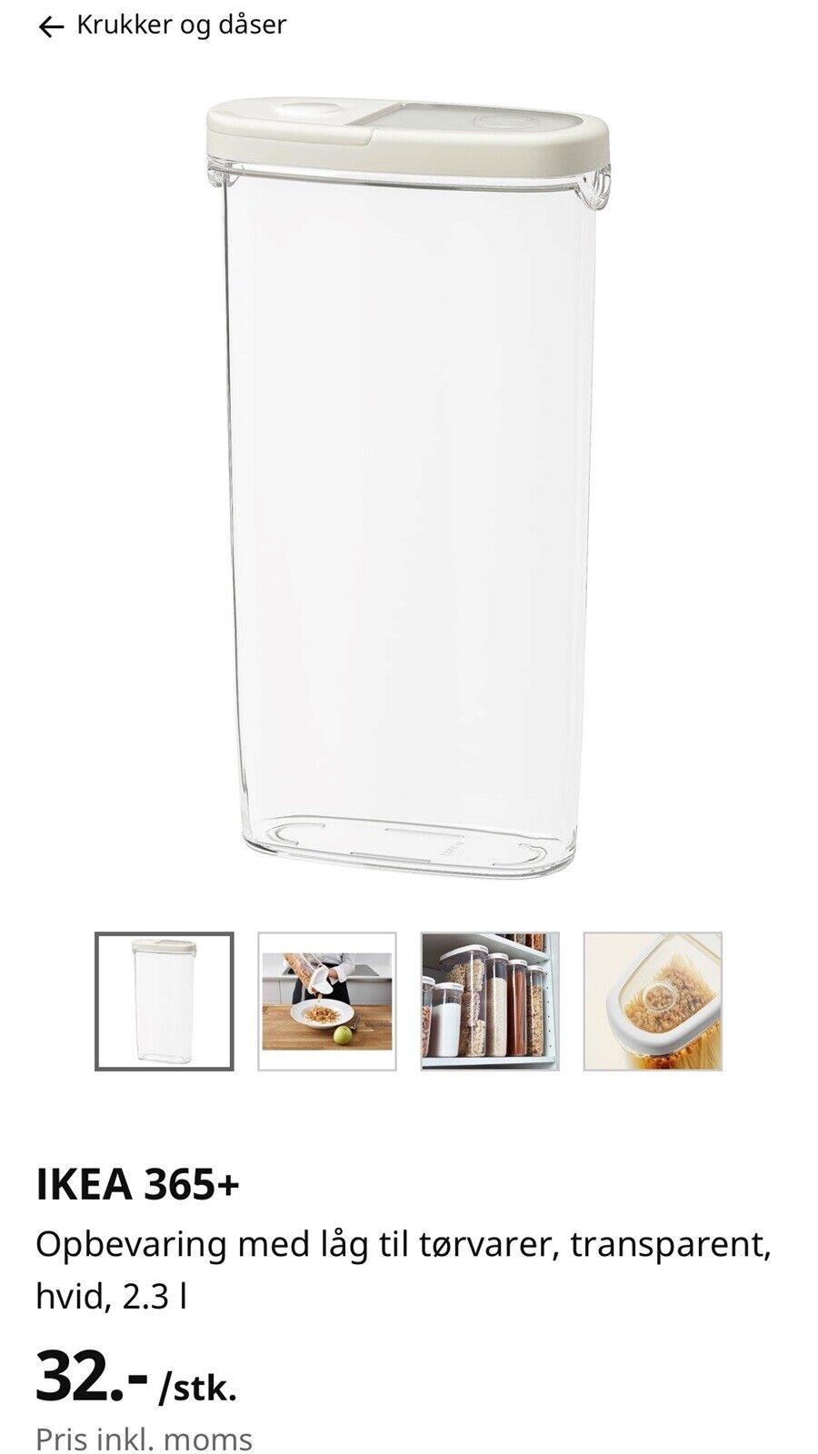 Picture of: Ikea 365 Opbevaring Krukke Ikea Ndash Dba Dk Ndash Kob Og Salg Af Nyt Og Brugt