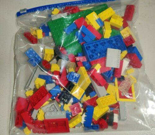 Vintage 1980s Tyco Super Blocks Assorted 1 Pound Bag Building Toy Blocks