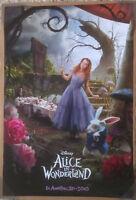 Alice In Wonderland Movie Poster 2 Sided Original Intl Alice 27x40