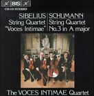 Sibelius & Schumann String Quartets (CD, Nov-1988, BIS (Sweden))