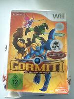 Nintendo Wii Spiel - Gormiti: Die Herrscher Der Natur - Mit Gormiti-figur