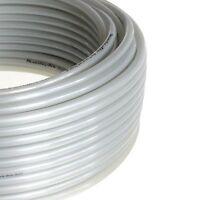 1pc Polyurethane Tubing 1/4 Od Silver 30m (98ft) Grey Gray Mettleair Pu1/4-30s