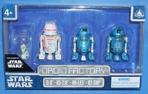R5-2JE R2-SHP New! STAR WARS DROID FACTORY THE CLONE WARS 4 PACK D-O R6-LE5