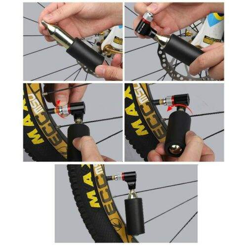 Racing Mountain Bike CO2 Mini Pump French And American Mouth Inflatable Portable