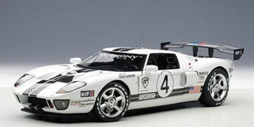 1 18 Autoart Ford GT storno race car spec. II 2005  4 -  Gratuit vitrine