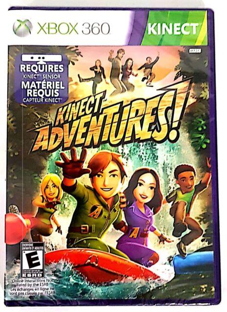 Kinect Adventures Xbox 360 Brand New