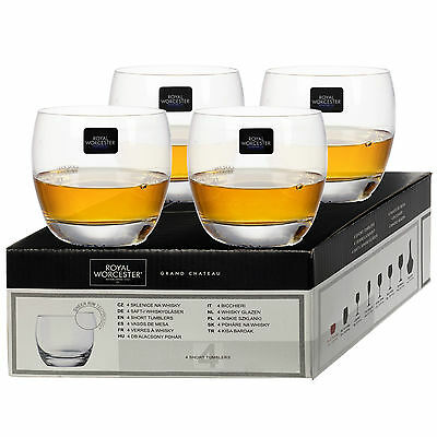 Royal Worcester Kwark Crystal Glassware Tableware Sets Gift Boxed Drinks Glass