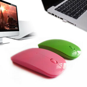 New-3-0-2-4GHz-Rechargeable-Slim-Mouse-Wireless-Optical-For-Apple-Laptop-Tools