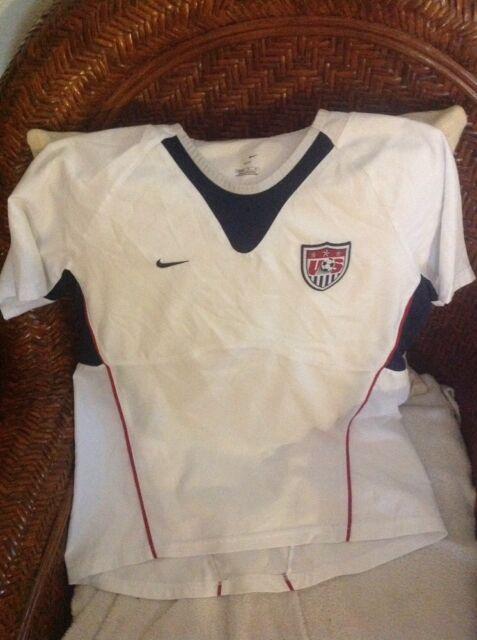 Vintage nike usa white soccer jersey size M youth  271ea73a0