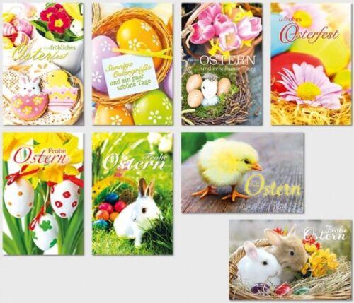 50 Osterkarten Ostern Osterkarte Grußkarten Glückwunschkarten sk 3579