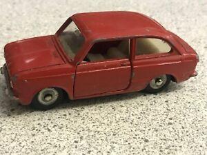 Dinky Toys Francia 1/43 - Fiat 850 en muy buena condición rara