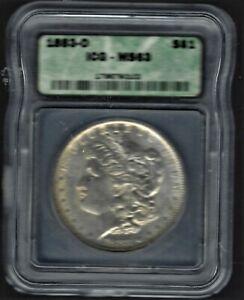 1883-O-1-Morgan-Silver-Dollar-GRADED-BY-ICG-MS-63-WOW-NICE-TONE-NGC-PRICE-70