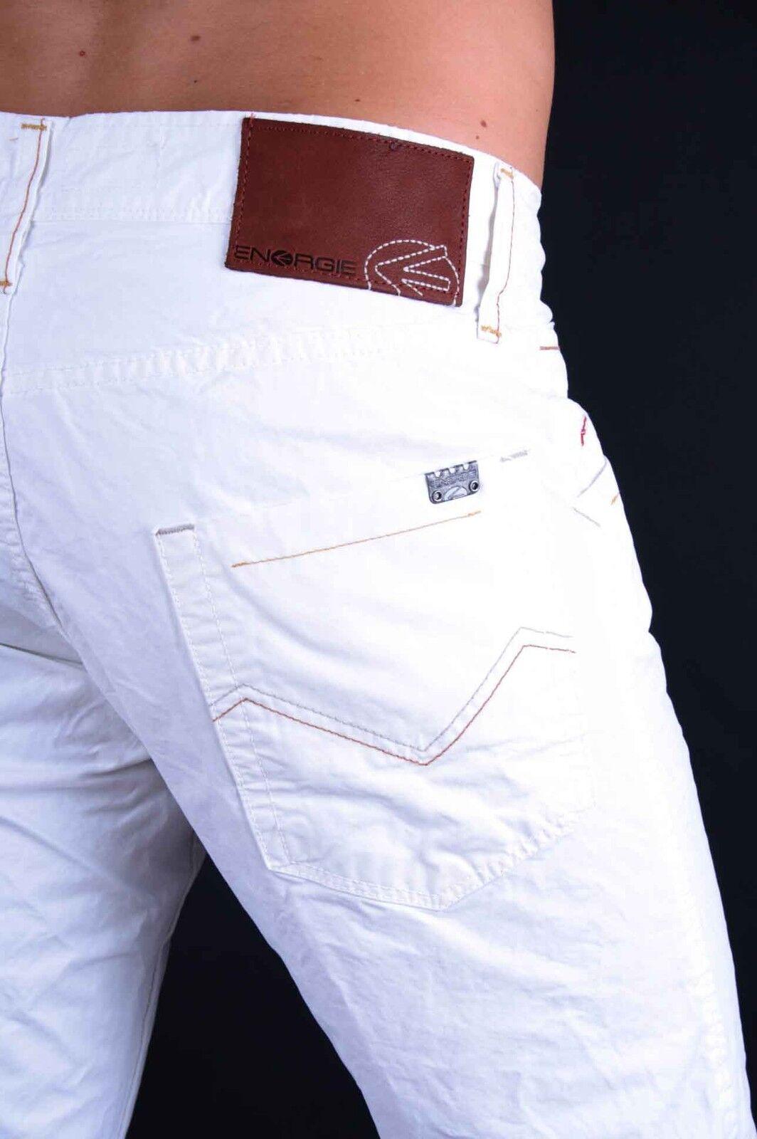 Energie Pantalones Vaqueros de Hombre Tony Champa blancoo T00257   cómodamente