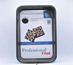 "T-Fal Professional 9"" x 14"" Nonstick Rectangular Cake Pan"