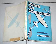 Loris Kanneworff INCONTRO CON L'AEROMODELLISMO Modellistica Firenze 1 ed 1975