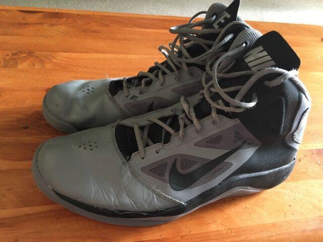 super popular 6d416 0c64c Nike Dual Fusion Basketball Hi-tops Men s size 14 Gray Black Shoes