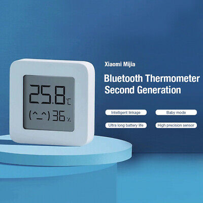 Xiaomi  Thermometer Hygrometer Bluetooth 4.2 Intelligent Linkage Baby Mode APP