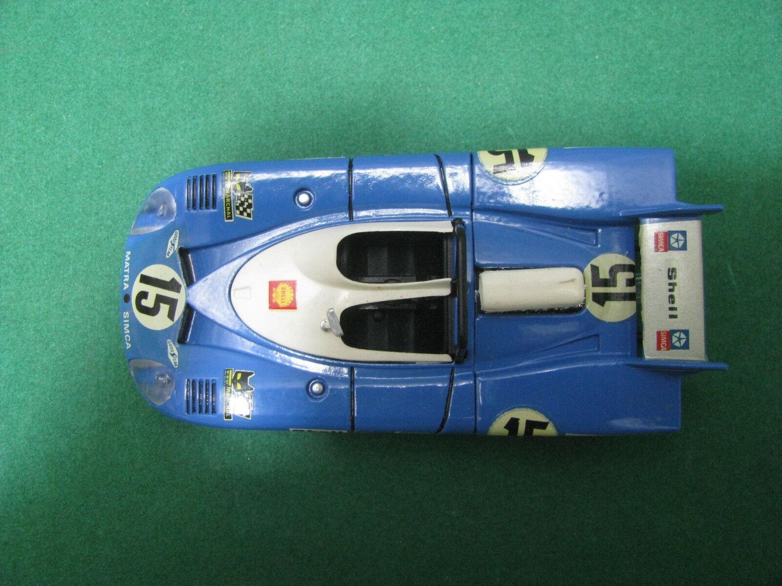Vintage   -  MATRA-SIMCA  MS MS MS 670  Le Mans    - 1 43 Solido n°13 9b2a0c