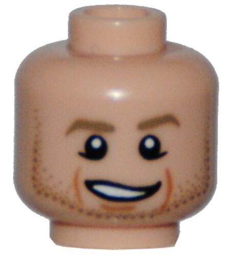 LEGO ® tête de personnage écusson Homme 26625 Head Tête hoofd Cabeza Testa 6151947 nouveau