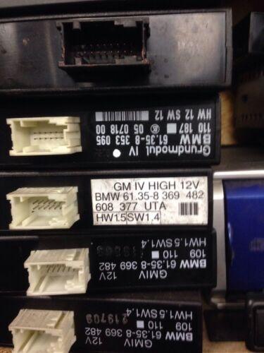 BMW SERIE 3 E36 non codificato modulo base 4 corpo GM IV 8369483//8353095//8360060
