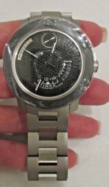 a73e695c3 Movado Men's Swiss Bold Stainless Steel Bracelet Watch 44mm 3600383 Silver