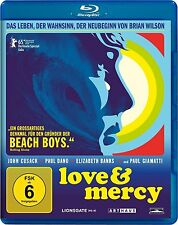 LOVE & MERCY (John Cusack, Paul Dano) Blu-ray Disc NEU+OVP Beach Boys
