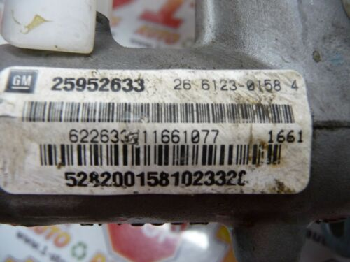 08 09 10 11 12 CHEVROLET MALIBU BRAKE MASTER CYLINDER W// RESERVOIR 25952633 OEM
