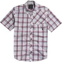 Fox Racing Mens Kid-a Woven Short Sleeved Checked Shirt Size Medium 42 Chest