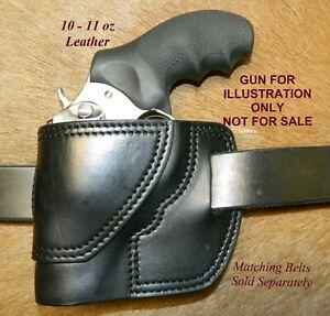 "Gary C's Leather Avenger OWB Left Hand Revolver Holster RUGER SP 101  2.25"""