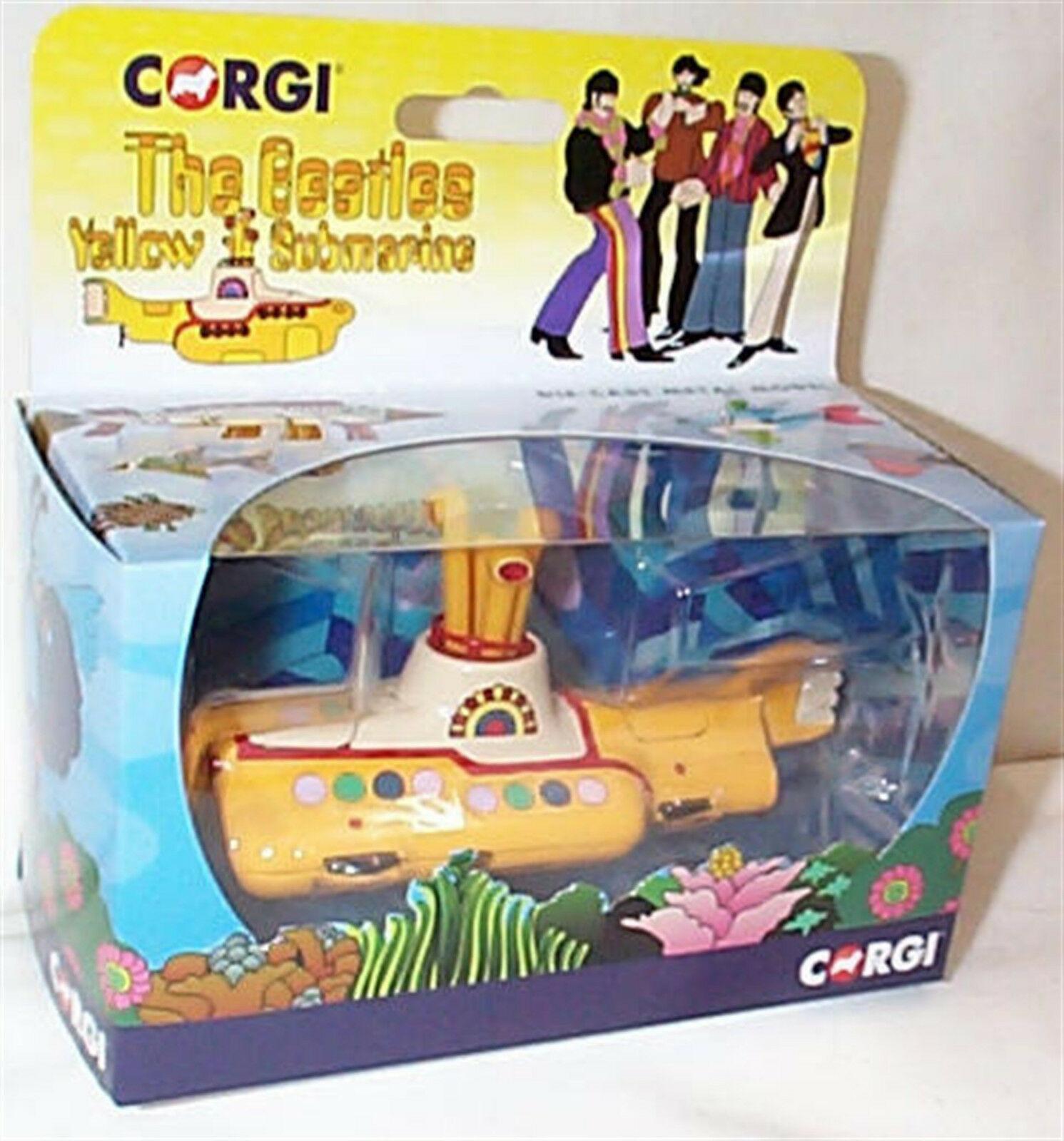 CORGI YELLOW SUBMARINE Diecast Model Toy The Beatles Brand New Boxed CC05401 50t