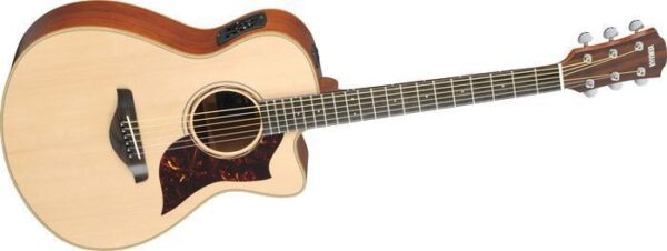 Musical Instruments & Gear Yamaha Electric Acoustic Guitar Ac3m Vn Are Ems W/ Tracking New