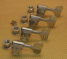 145C4 Grover Titan Bass Guitar Tuners Tuning Machines 4 In-Line Chrome