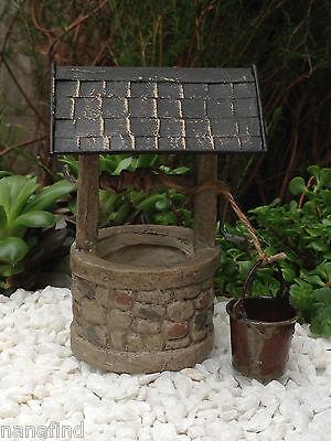 SCALA 1:12 grandi Secchio di metallo W Secchio Casa delle Bambole Accessorio Giardino