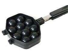 Kitchen Taiyaki Walnut Waffle Pan Maker Cast Home Cooking