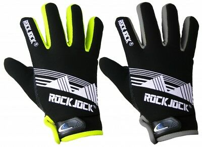 Fein Mens Adults Rock Jock Neon Thermal Gloves Fleece Lined Grip Sports Activity