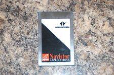 NEXIQ PRO LINK   NAVPAK  APPLICATION CARD  804010
