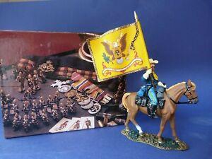 King-amp-Country-TRW146-regimental-flagbearer-Regiment-Porte-drapeaux-En-boite