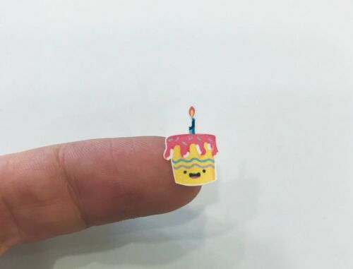 140 mini stickers Birthday reminder planner stickers happy cake Cute